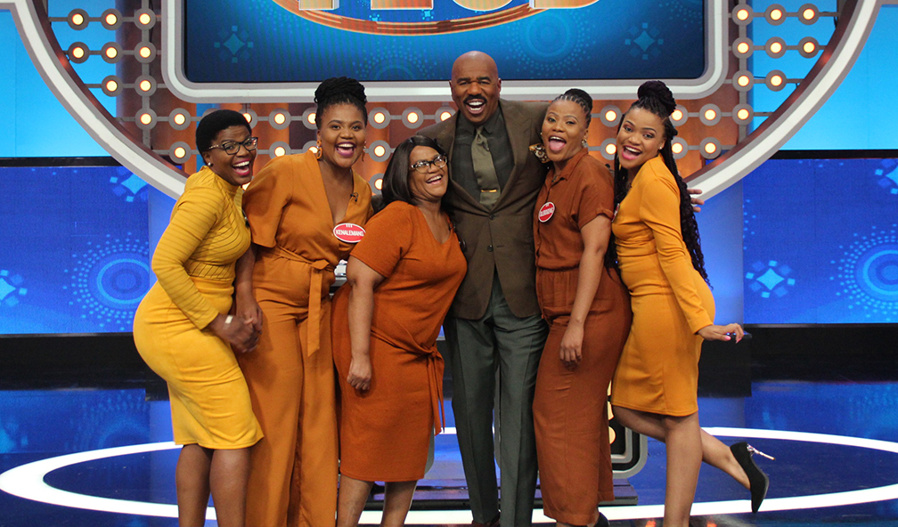 Family Feud South Africa - The Sedumedi Family